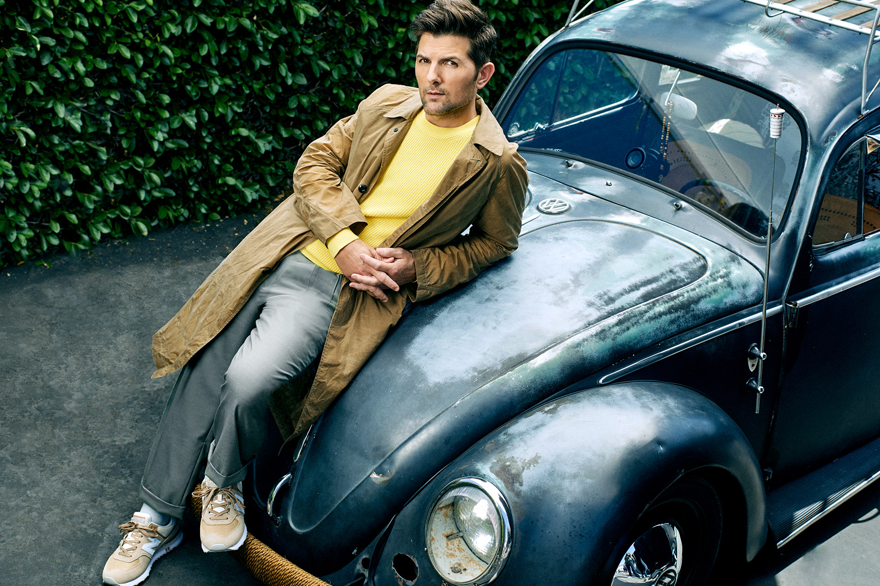 Portraits of Actor Adam Scott by Scott Council