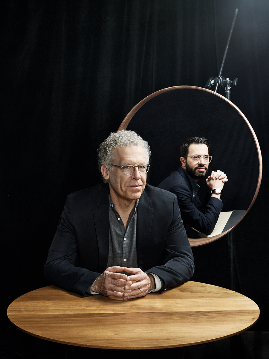 Carlton Cuse and Edward Kitsis photographed by Scott Council
