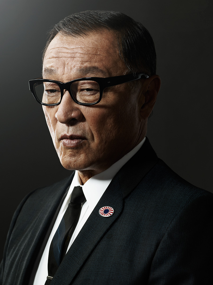 Actor Cary-Hiroyuki from The Man in the High Castle, photographed by Scott Council