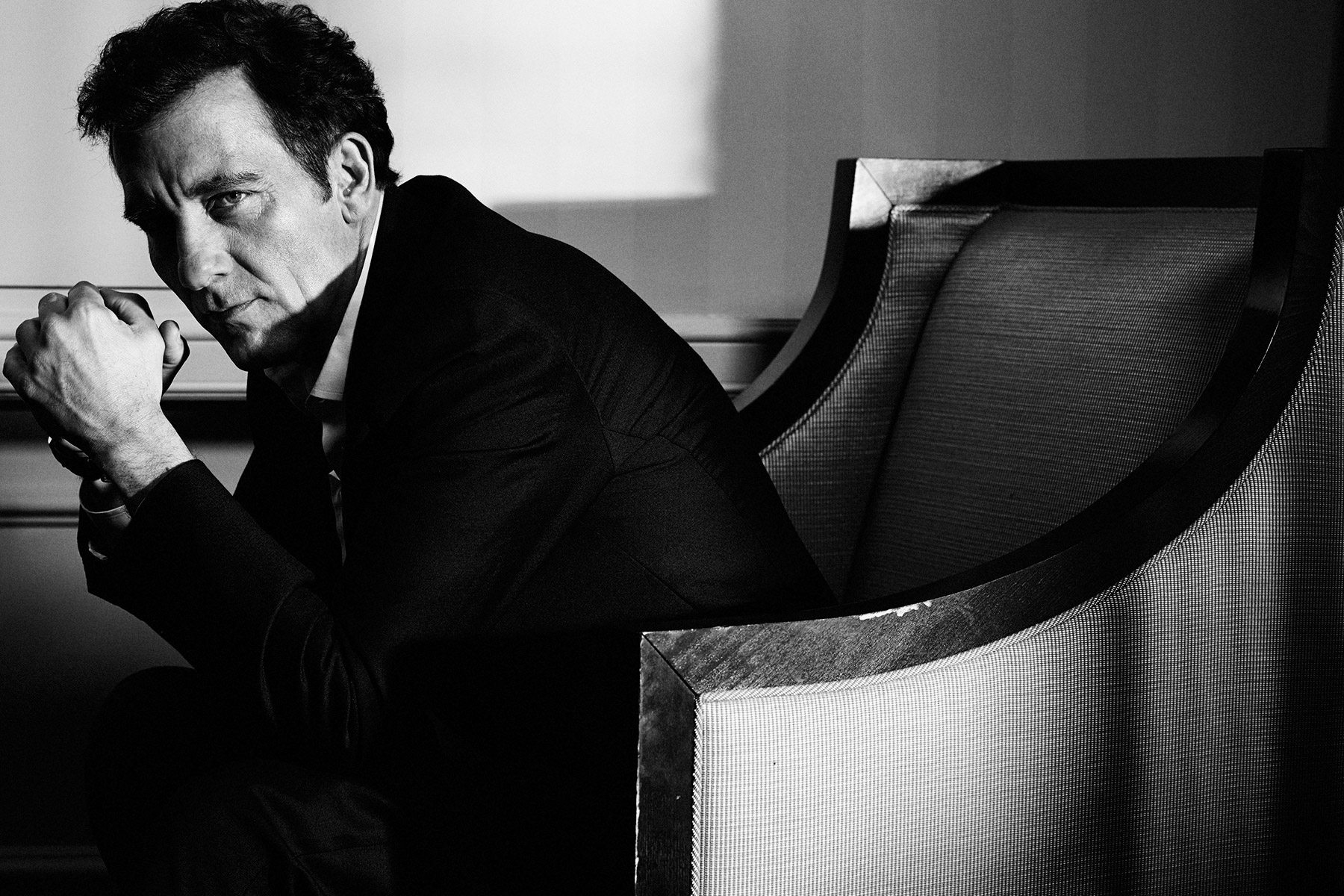 Clive Owen photographed by Scott Council