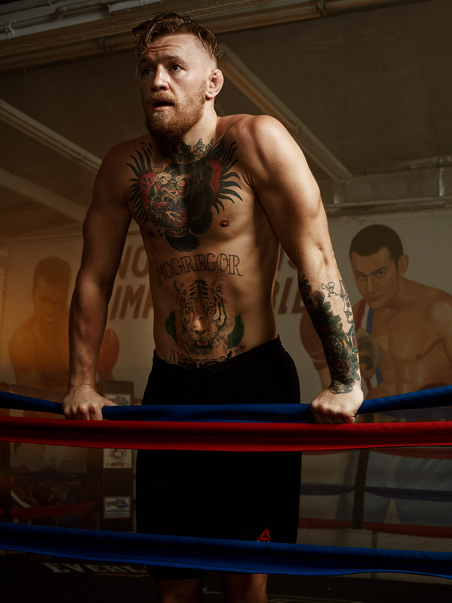 MMA fighter, Conor McGregor photographed by Scott Council