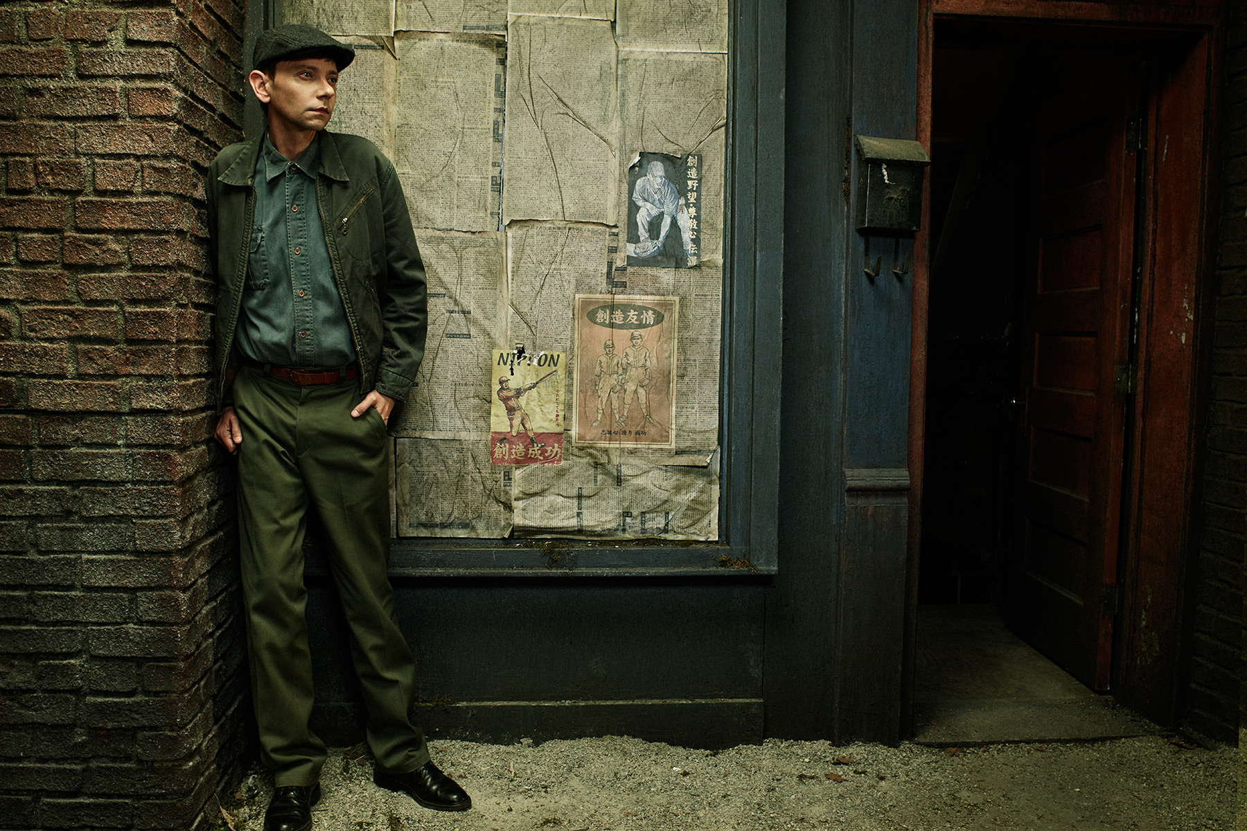 Actor DJ Qualls from the tv series, Man in the High Castle, photographed by Scott Council