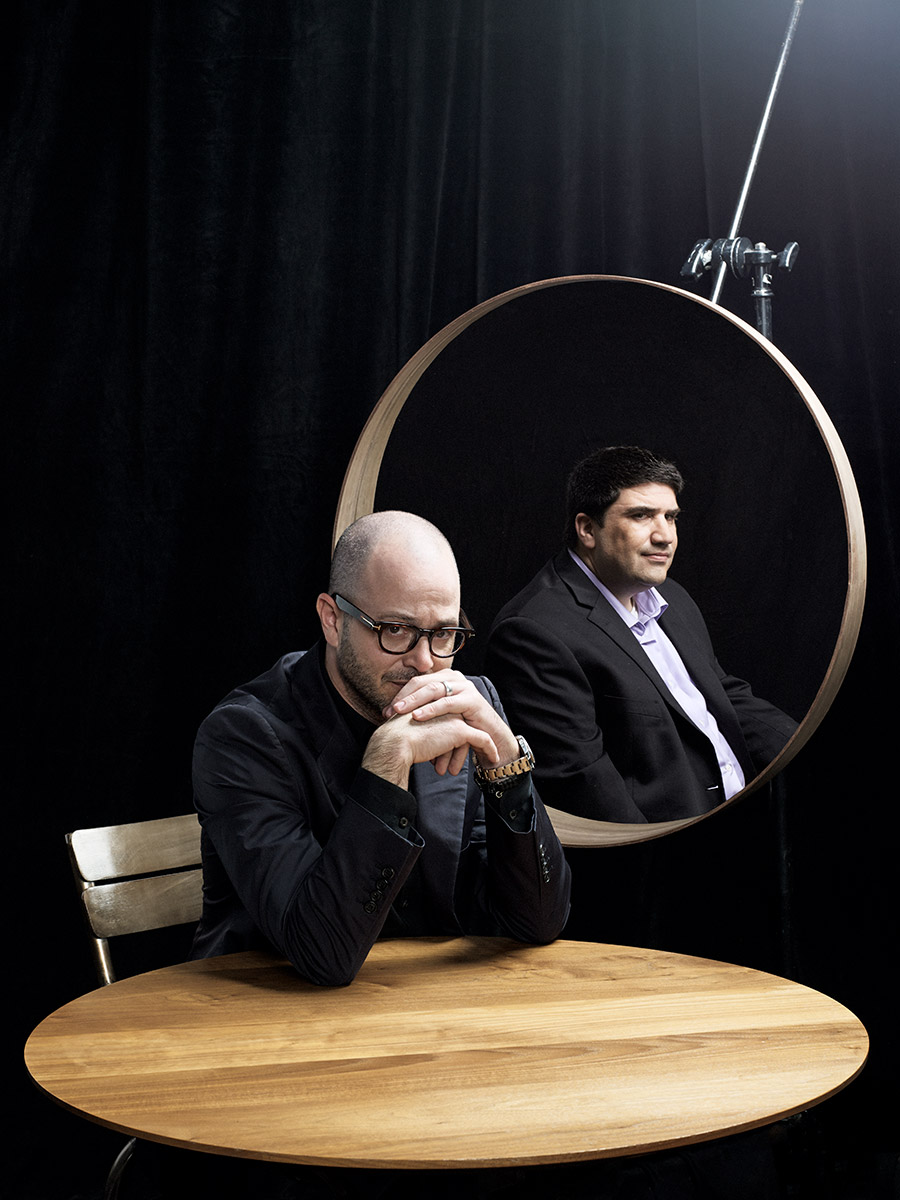 Damon Lindelof and Adam Horowitz photographed by Scott Council