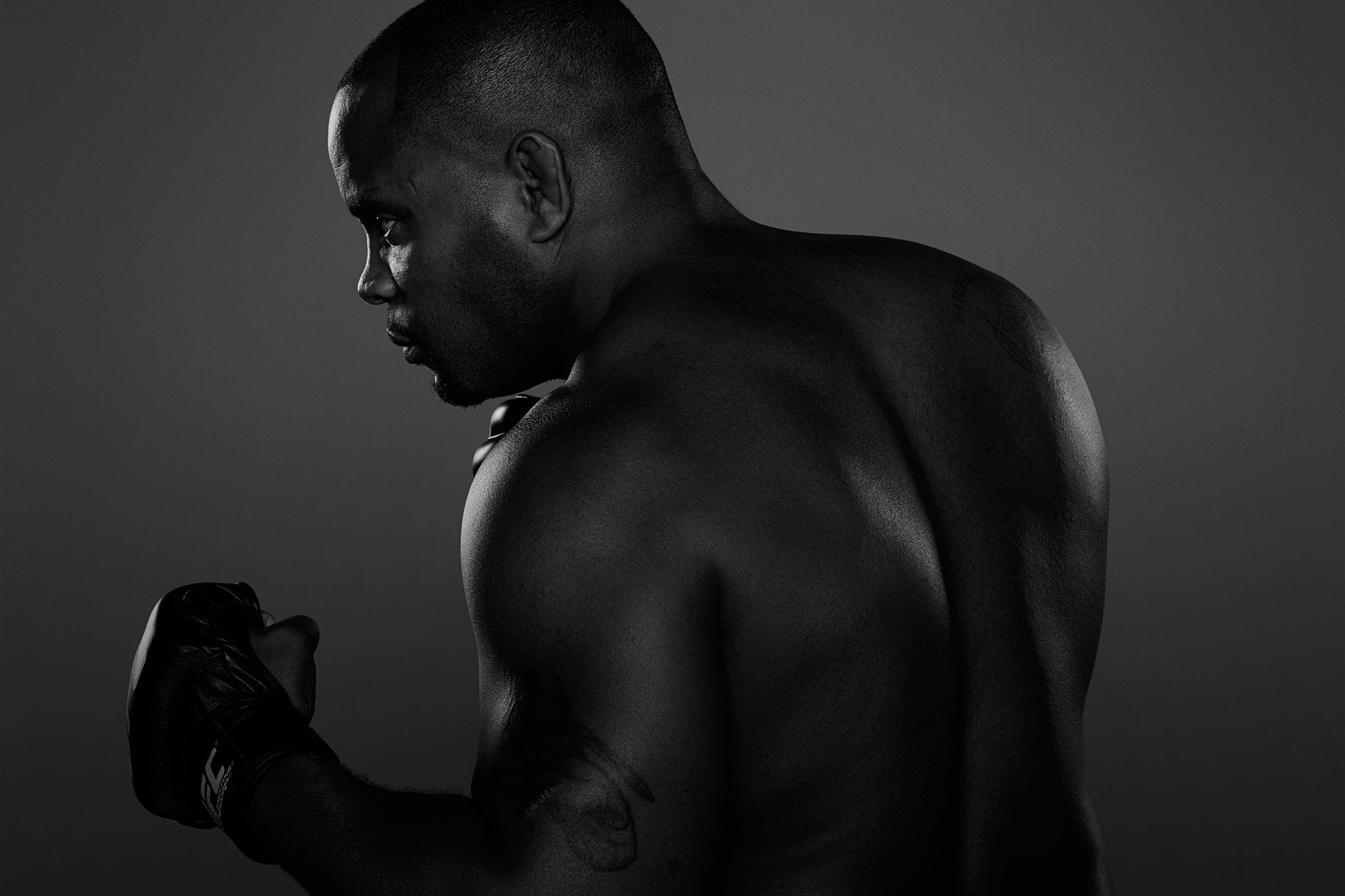 UFC fighter, Daniel-Cormier photographed by Scott Council