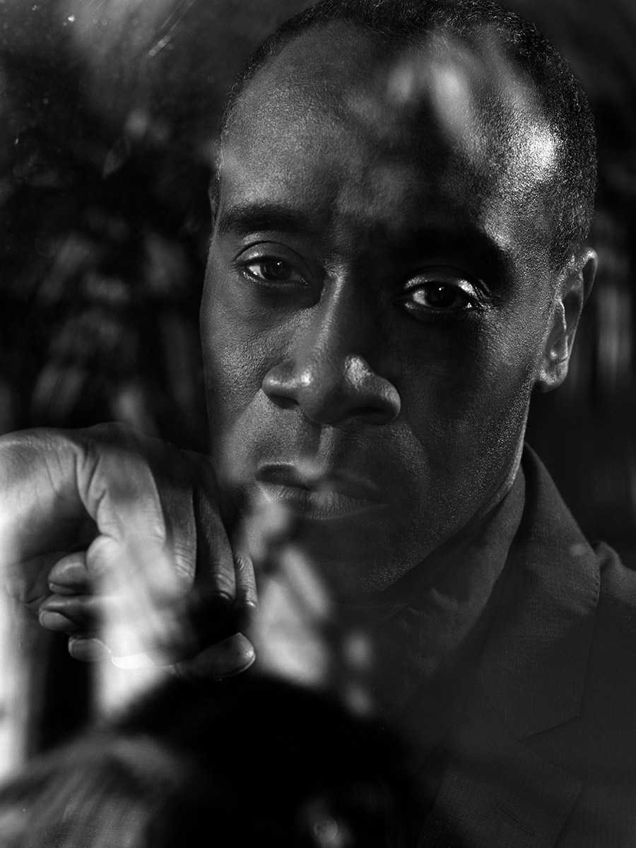Don Cheadle photographed by Scott Council