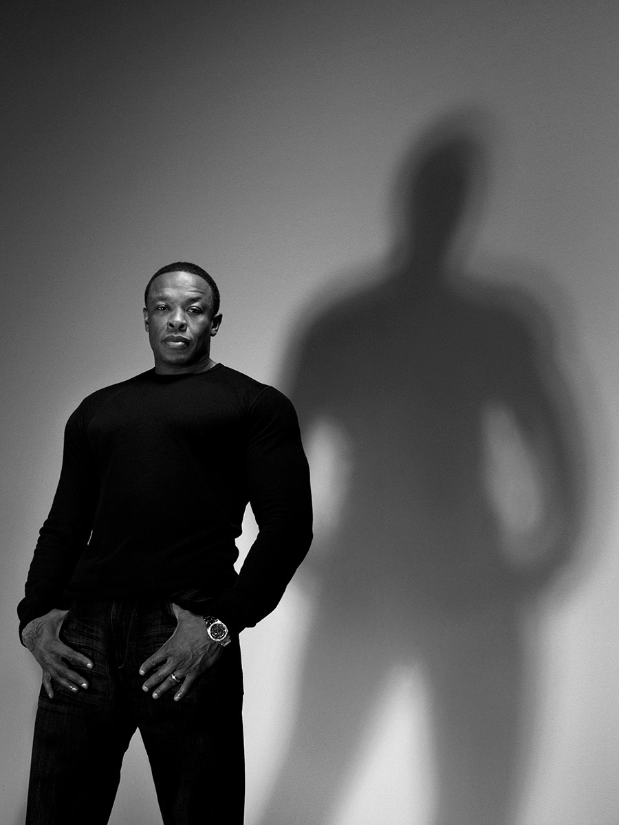Portraits of Dr. Dre photographed by Scott Council