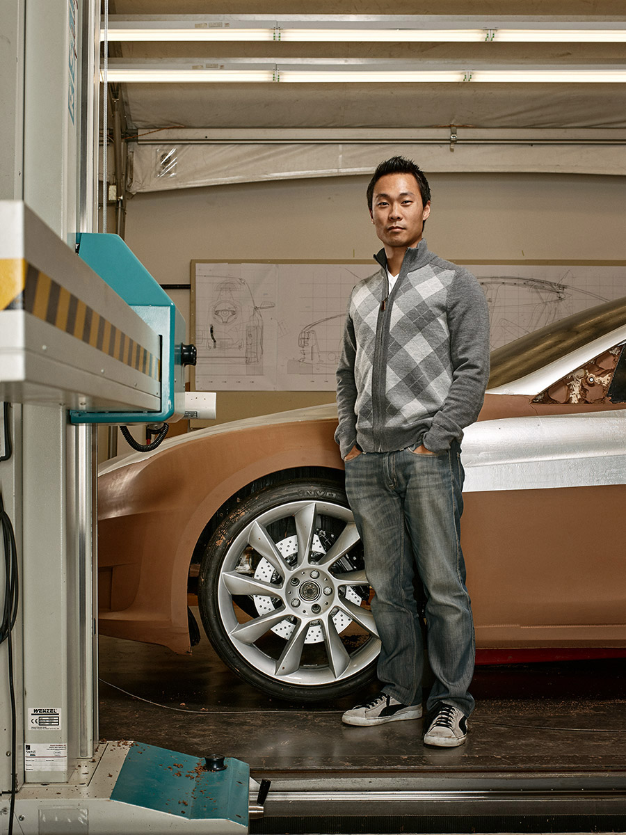 CAR DESIGNER TESLA DESIGN STUDIO