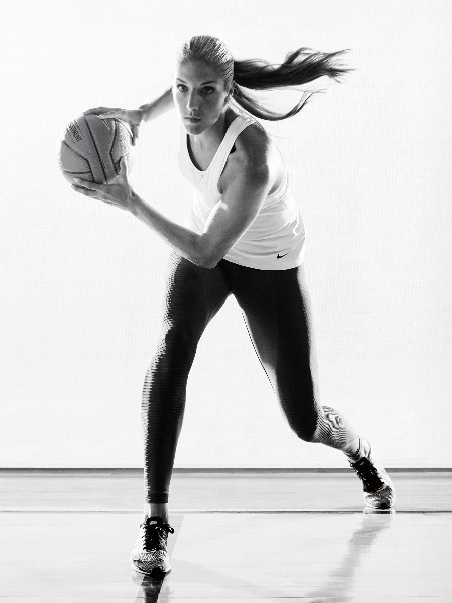 Elena Delle Donne photographed by Scott Council