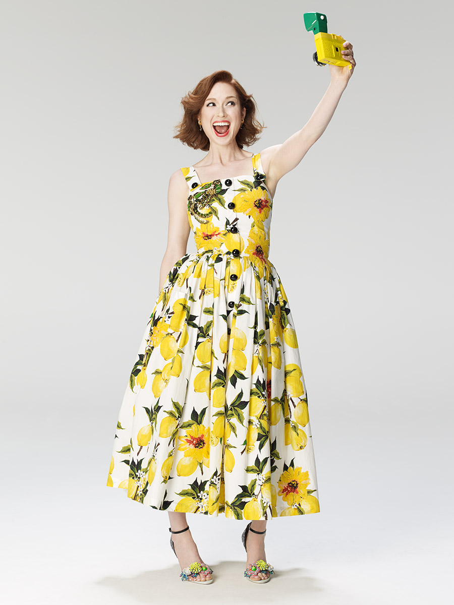 Ellie Kemper photographed by Scott Council