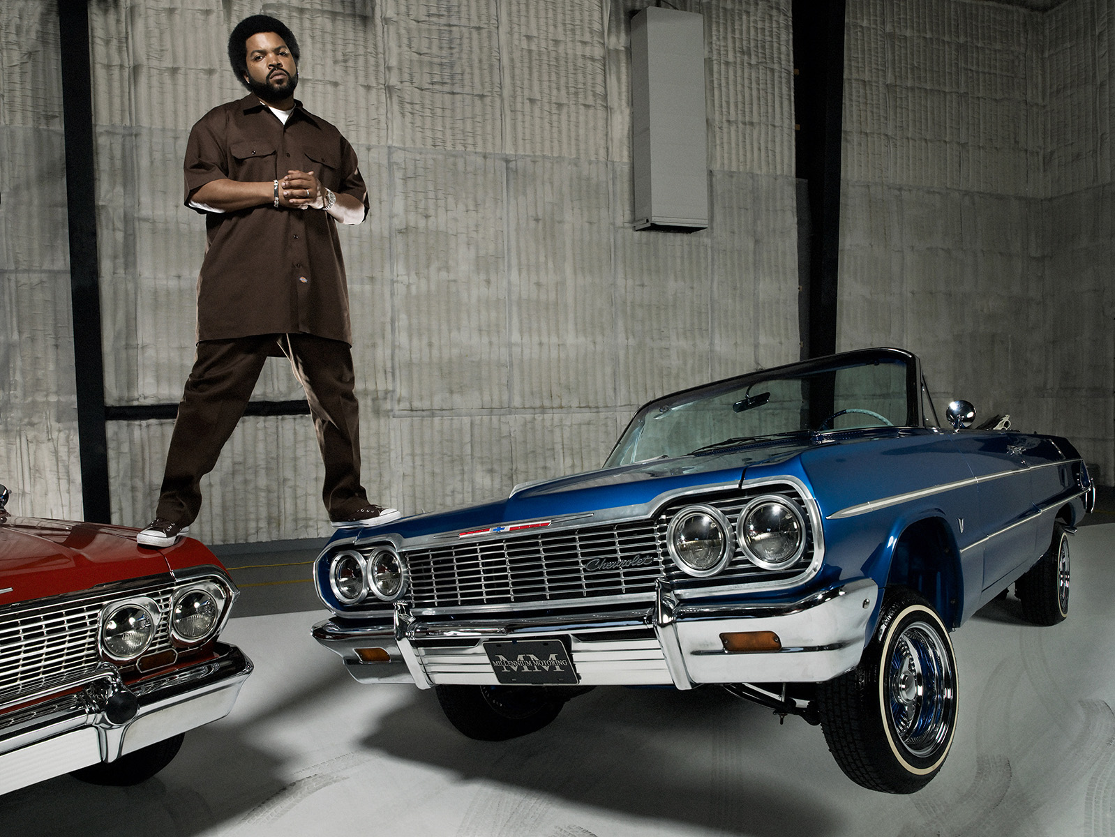 portrait of Rapper Ice Cube photographed by Scott Council