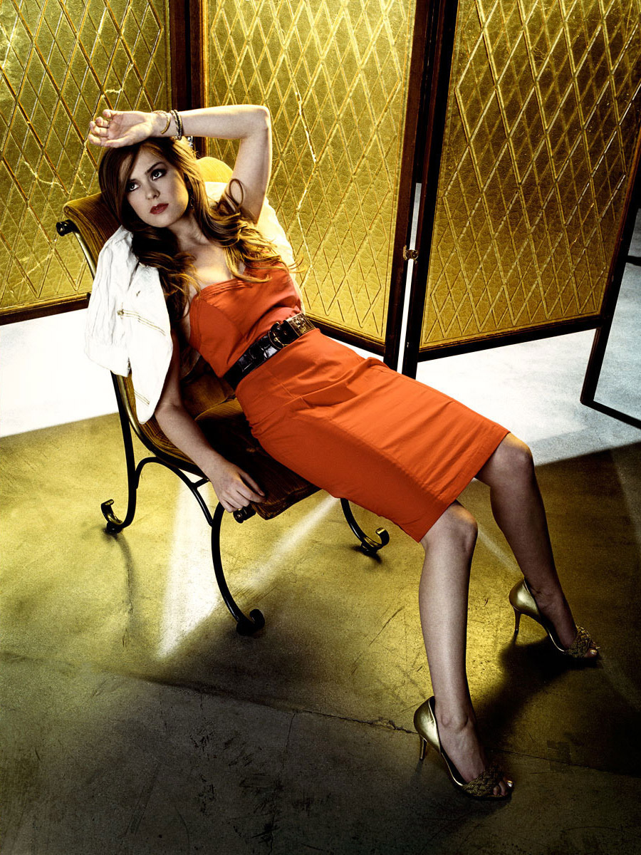 Isla Fisher photographed by Scott Council