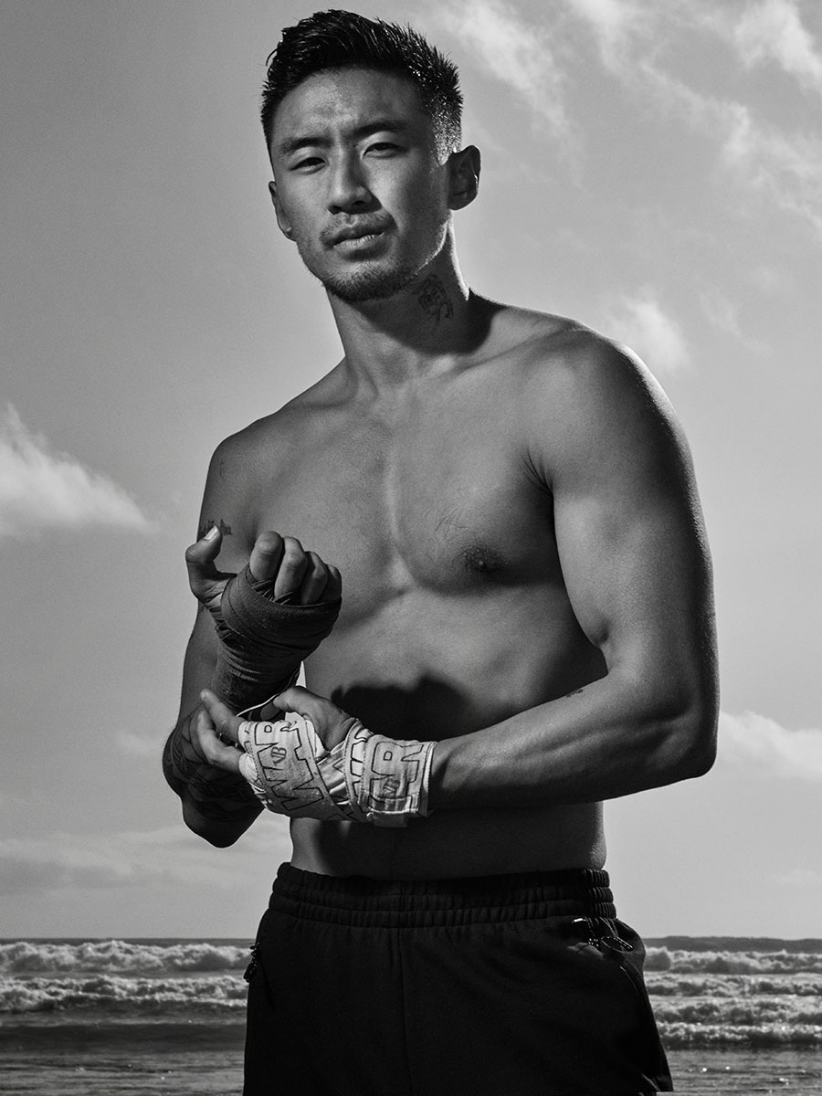 Actor and Muay Thai athlete, Jasper Jeon, film and stills by director Scott Council