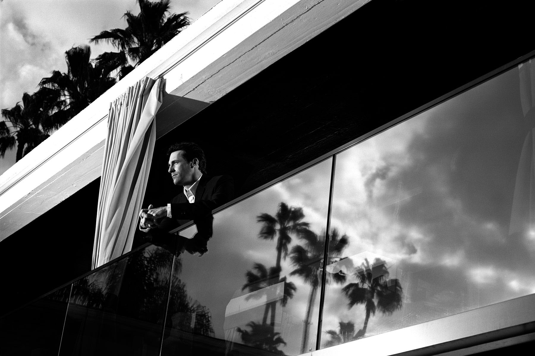 Actor Jon Hamm photographed by Scott Council