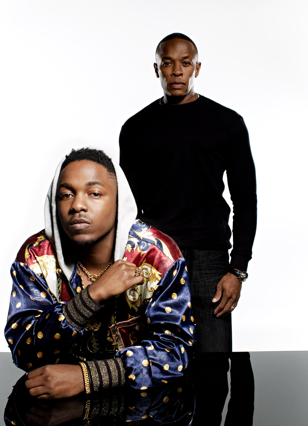 portrait of Hip-hop artist, rapper, Kendrick Lamar photographed by Scott Council