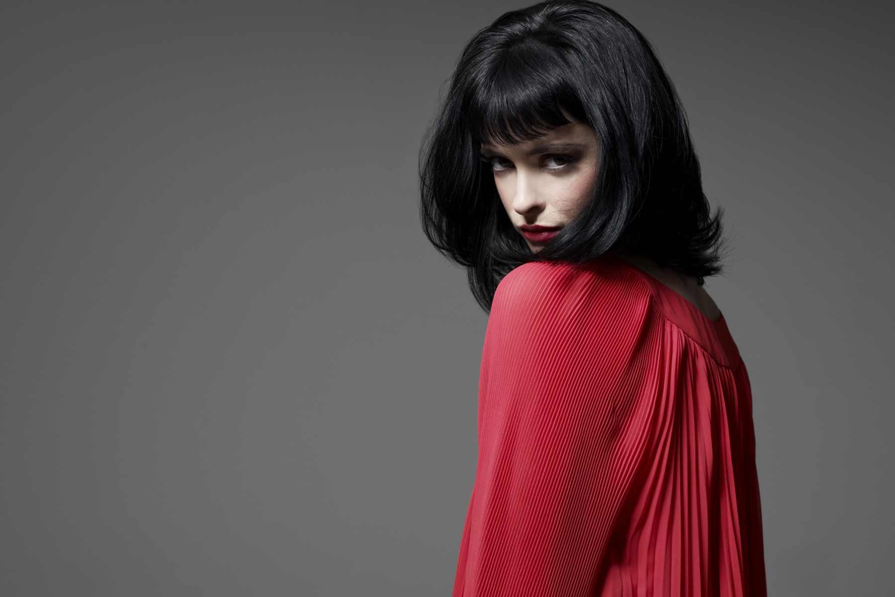 Portrait of Krysten Ritter photographed by Scott Council