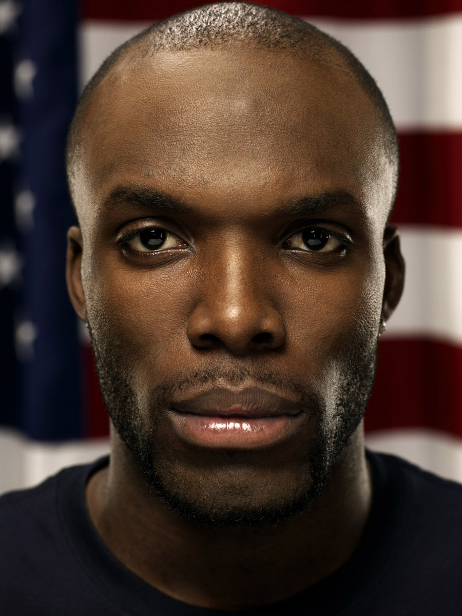 LaShawn Merritt, US Olympic athlete, photographed by Scott Council