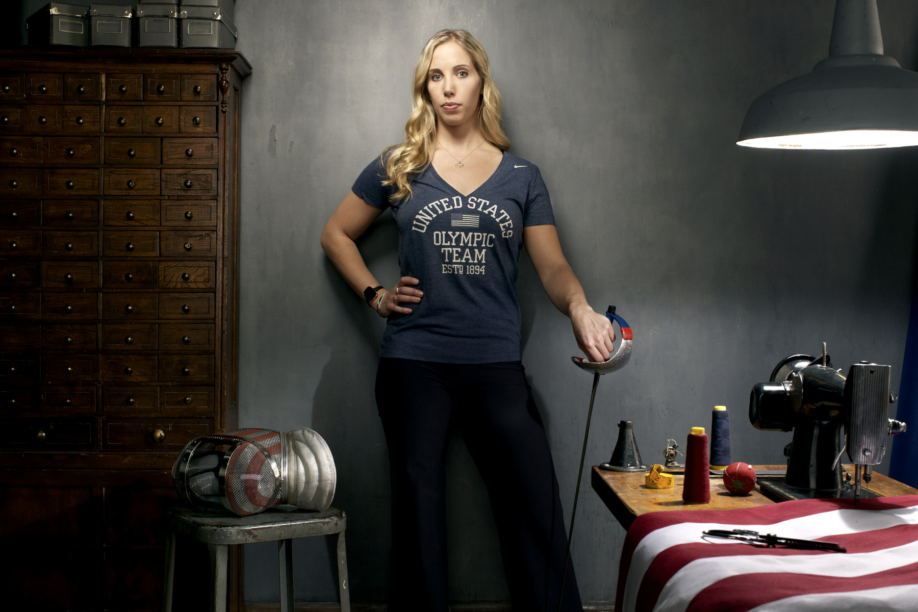 Mariel Zagunis, US Olympic athlete, photographed by Scott Council