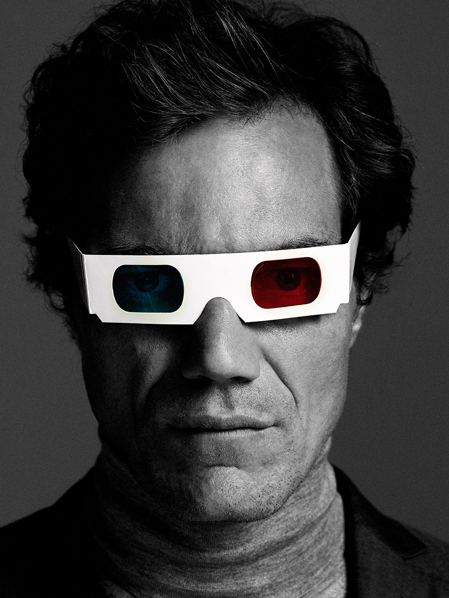 Portrait of Michael Shannon photographed by Scott Council