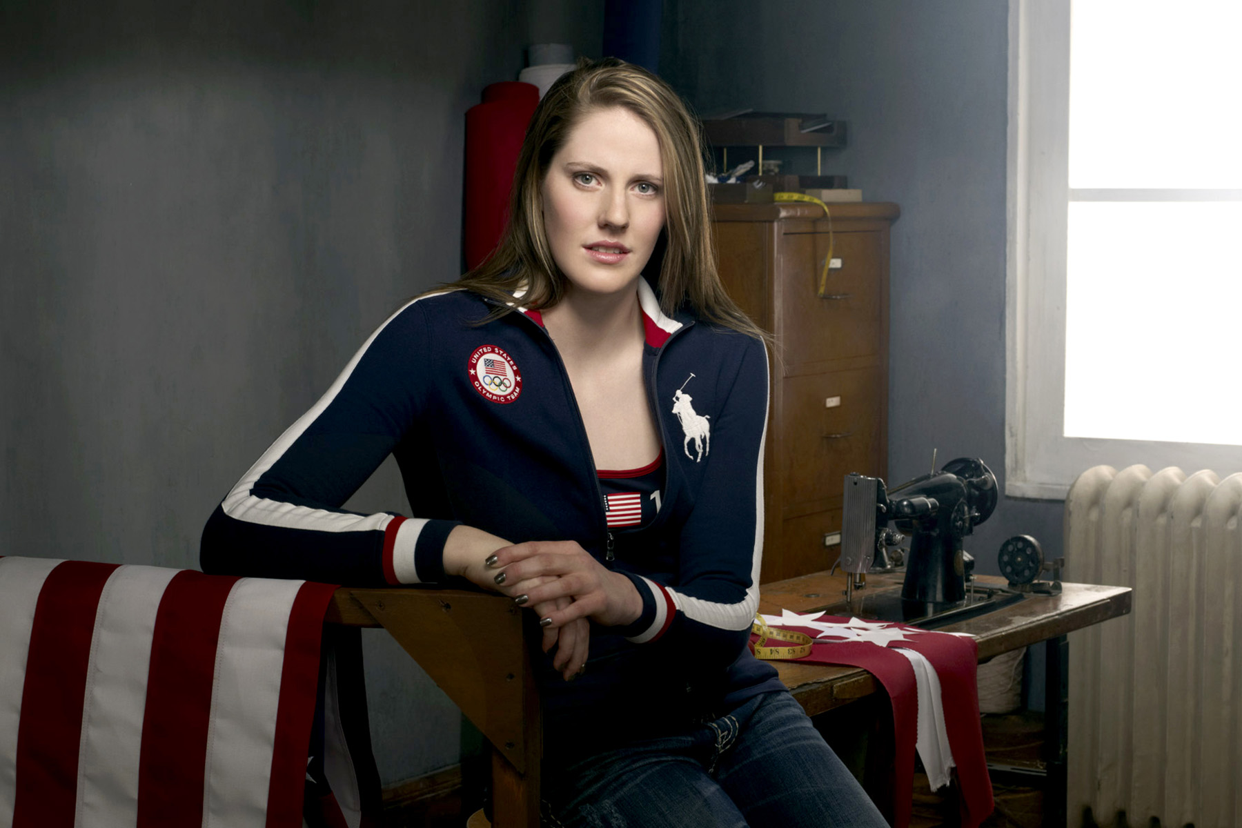 portrait of  Missy Franklin, US Olympic athlete, photographed by Scott Council