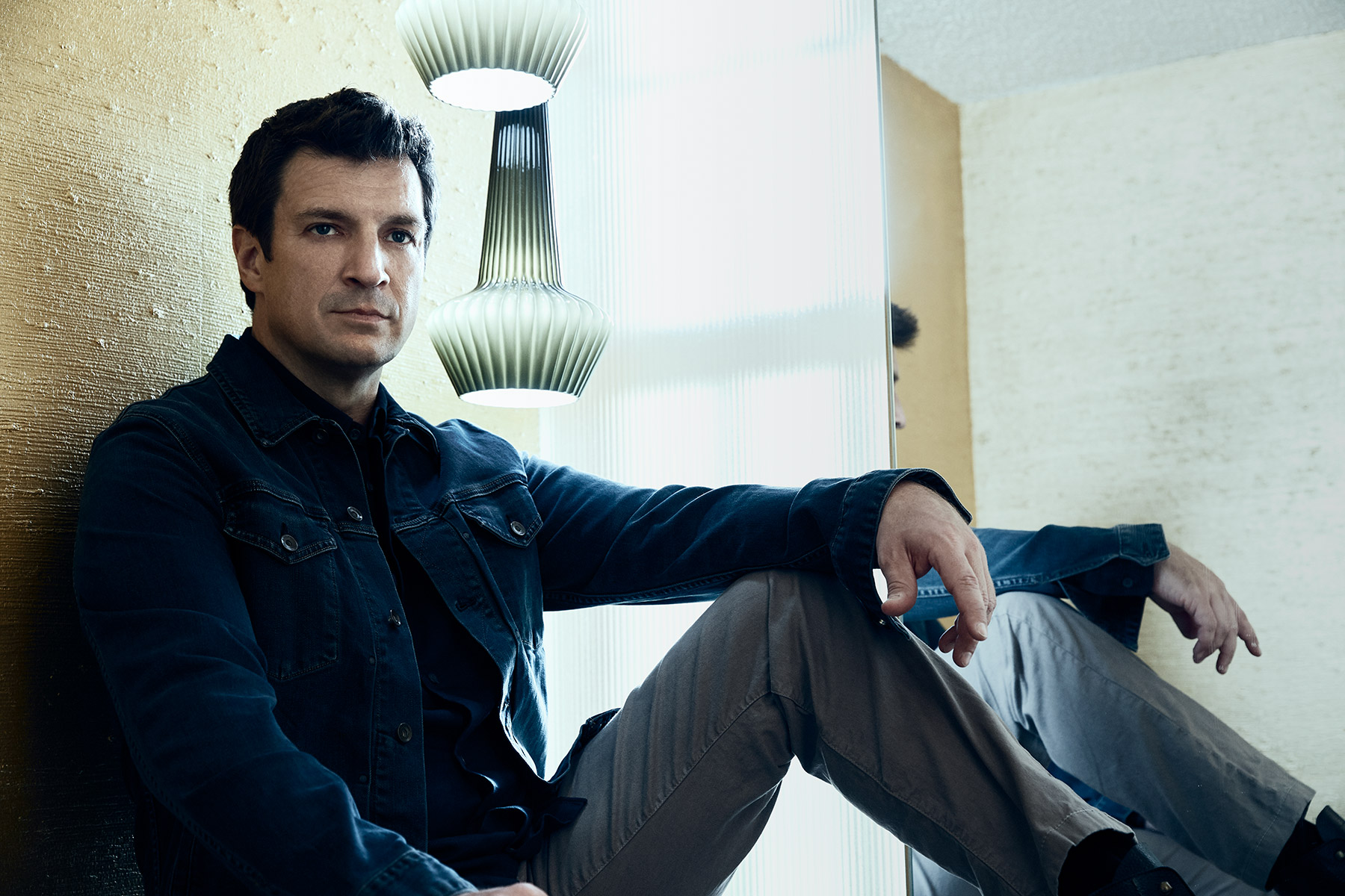 Nathan Fillion photographed by Scott Council