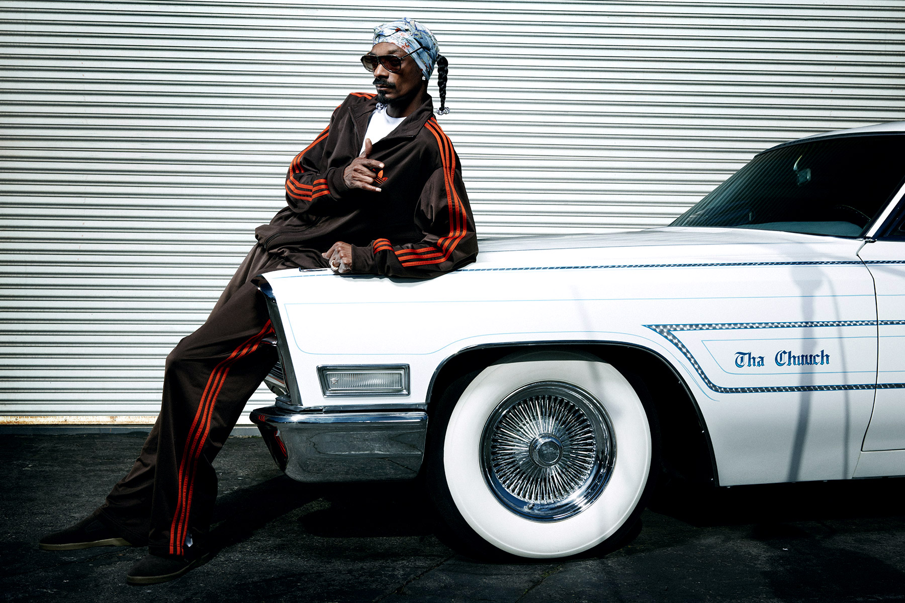 Hip-Hop artist, rapper Snoop Dogg photographed by Scott Council