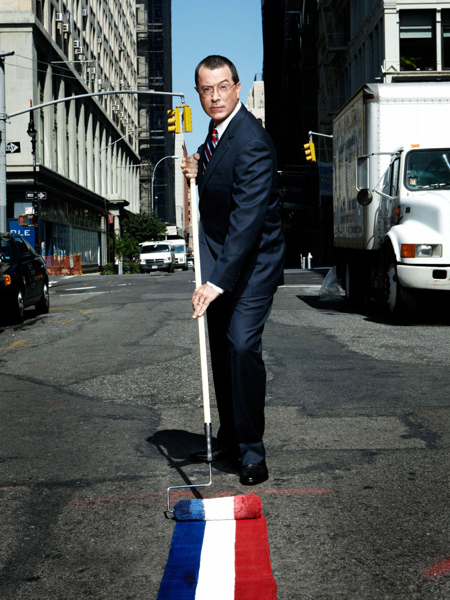 Stephen Colbert photographed by Scott Council