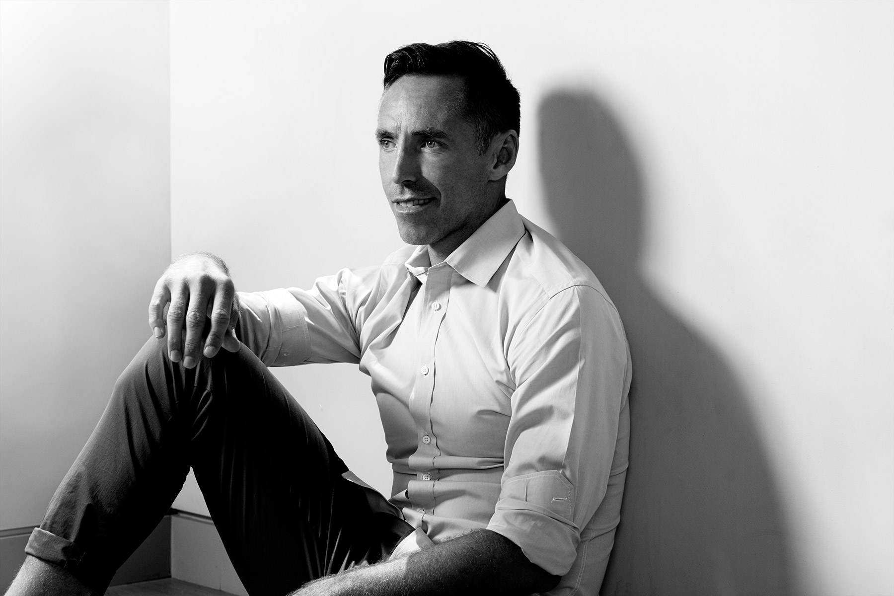 Portrait of Steve Nash photographed in Los Angeles by scott council