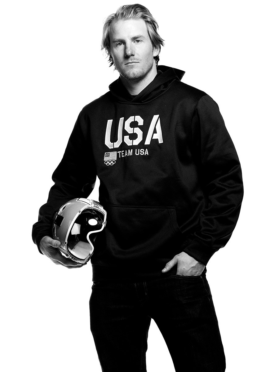 portrait of  Ted Ligety, US Olympic athlete, photographed by Scott Council