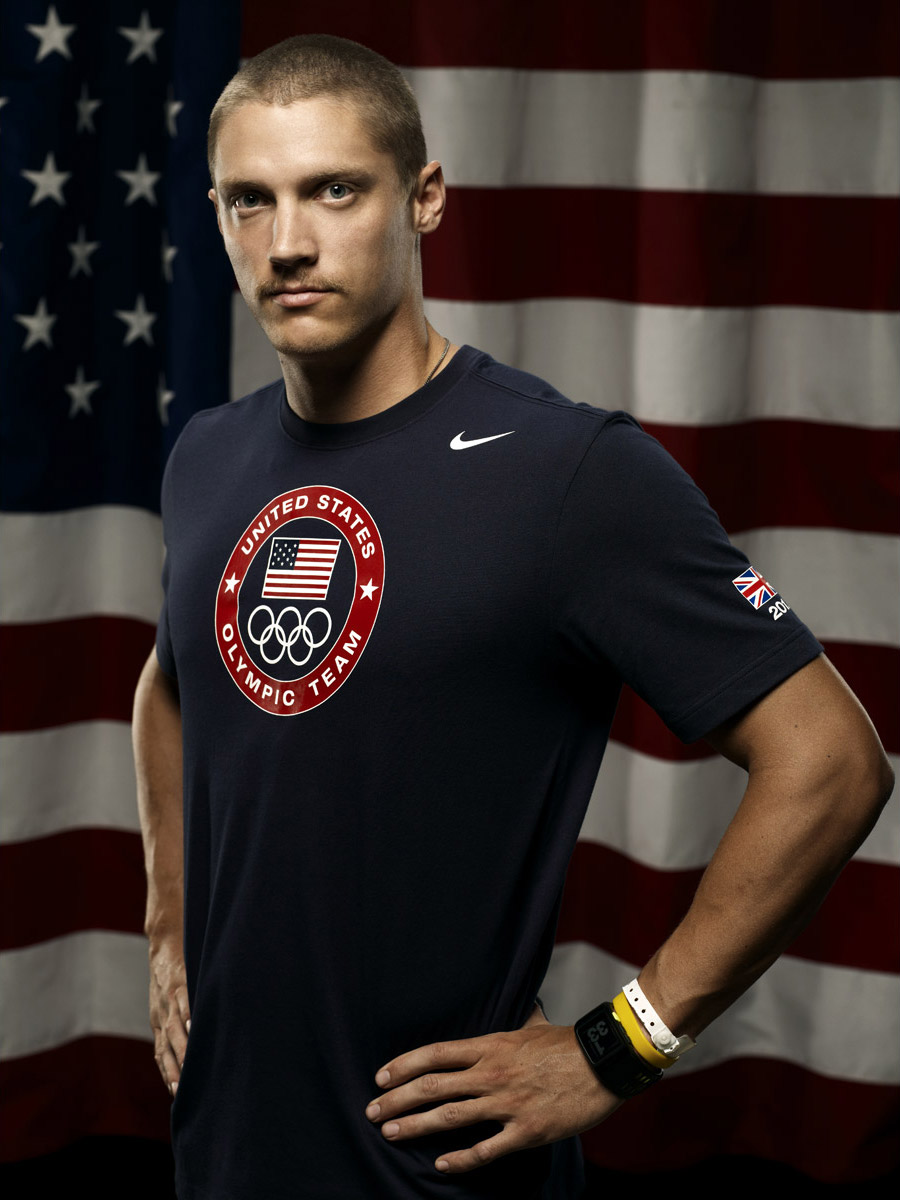 Trey Hardee, US Olympic athlete, photographed by Scott Council