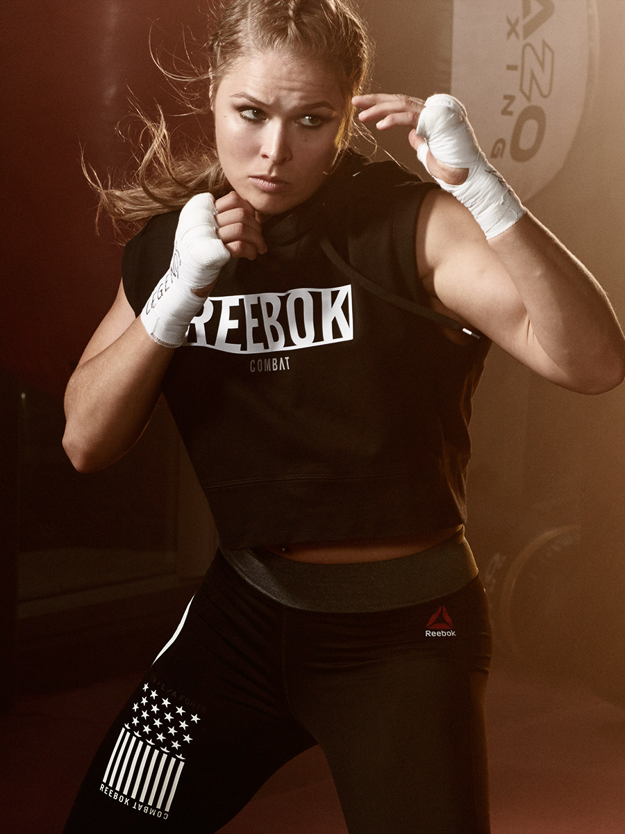 Ronda Rousey for Reebok