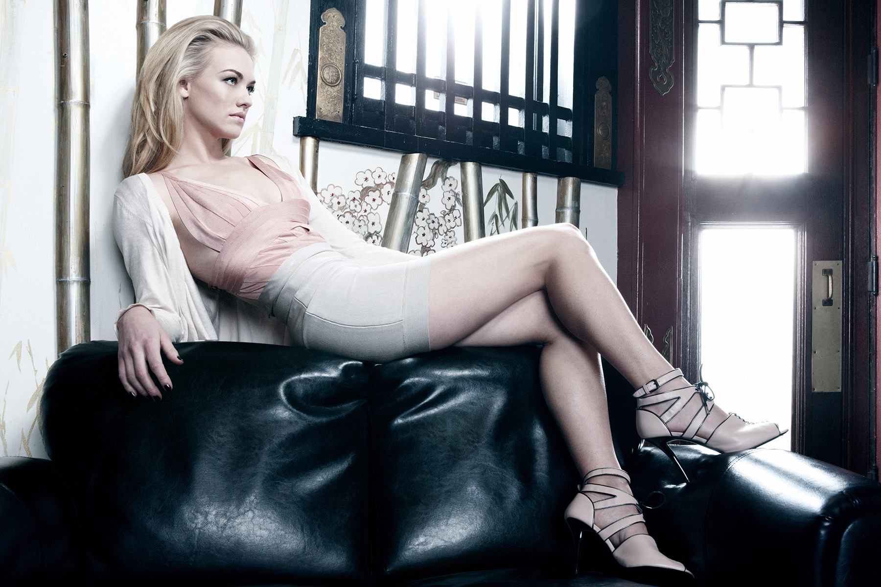 Actress Yvonne Strahovski photographed by Scott Council